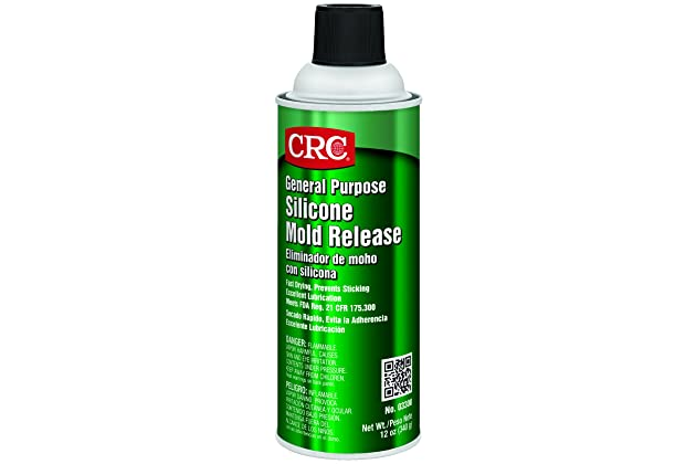 CRC 03300 Silicone Mold Release Spray, (Net Fill Weight 12