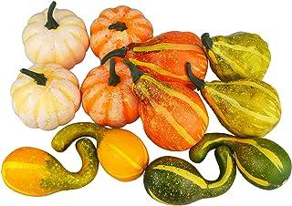 SAMYO Artificial Pumpkins 12 Pcs
