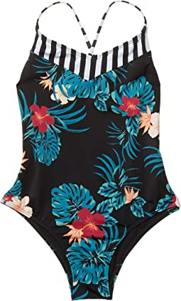 Sunkissed One-Piece Swimsuit (Big Kids)