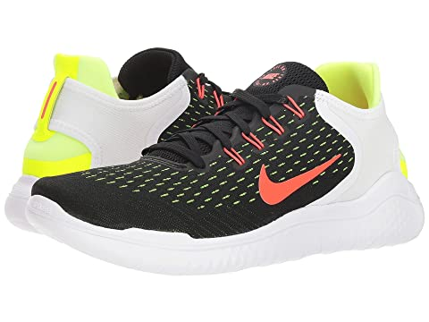 35e29ea95d1a Nike Men S Free Run 2018 Running Sneakers From Finish Line In Black Brt  Crimson-