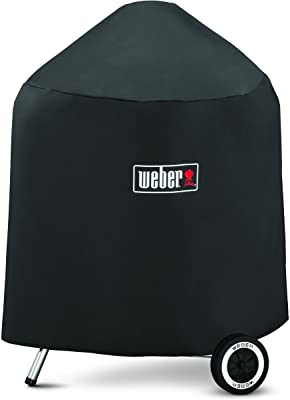 Weber 7149 Grill Cover with Storage Bag for Weber Charcoal Grills, 22.5-Inch
