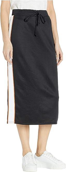 Tricot Midi Skirt