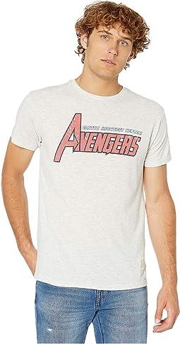 72e31ec0 Vintage Tri-Blend Avengers Short Sleeve Tee