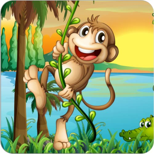 Kids Animals Scratch Game - Amazing wild animal adventure scratch off & color game for for kids, boys, girls and preschool toddlers under ages 2, 3, 4, 5 years old - Free Trial