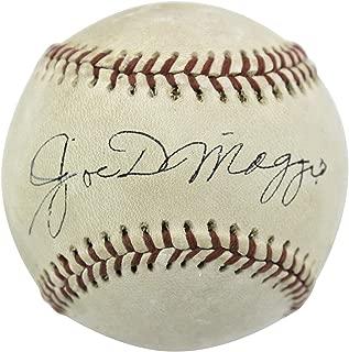Signed Joe DiMaggio Baseball - 1970 73 Oal Cronin #w05329 - PSA/DNA Certified - Autographed Baseballs