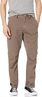 UNIONBAY Men's Luca Vintage Twill Utilty 5 Pocket Straight Fit Pant