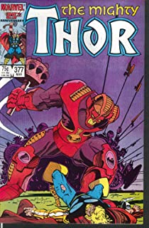 Mighty THOR #377 Marvel comic book 3 1987