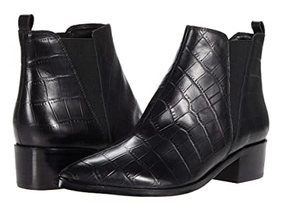 Marc Fisher LTD Yale 6 (Black Leather) Women