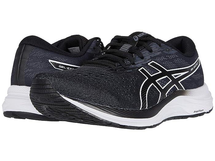 ASICS  GEL-Excitetm 7 (Black/White) Mens Running Shoes