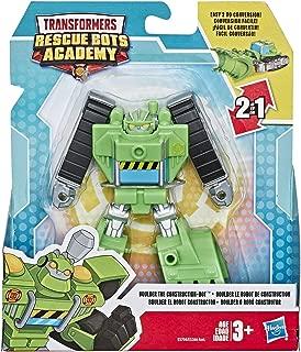 Transformers Rescue Bots Academy Boulder The Construction Robot 4.5