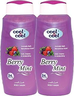 Cool & Cool Berry Mint Shower Gel - Pack of 2 Pcs ( 2 x 500ml)