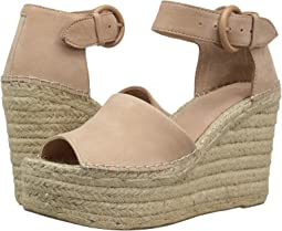 b08102862b26 Light Pale Rust Kid Suede. Marc Fisher LTD. Alida Espadrille Wedge