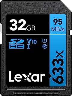 Lexar Professional 633x 32GB SDHC UHS-I Card w/Image Rescue 5 Software - LSD32GCB1NL633 32GB LSD32GCB1NL633