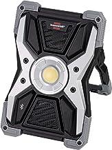 Brennenstuhl Mobiele LED-bowlamp RUFUS 3010 MA met Bluetooth-luidspreker (LED-werklamp met powerbankfunctie, incl. laadkab...