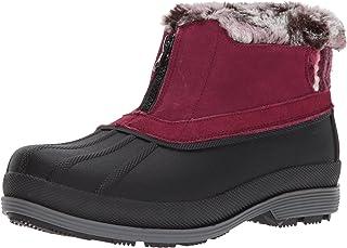 Propet Wohombres Lumi Ankle Zip Snow bota, Berry, 7.5 M US
