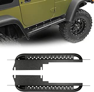 u-Box Jeep Wrangler TJ Running Boards Side Steps Nerf Bars Rocker Guard Sliders (Jeep Wrangler TJ 1997-2006)