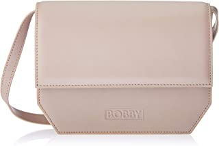 Bobby Universe Women's No. 5 Cross-Body Handbags, Shadow Grey Vegetable Tanned Leather, One Size