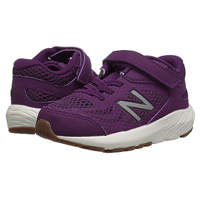 New Balance Kids KV519v1I (Infant/Toddler) (Imperial/Phantom) Girls Shoes