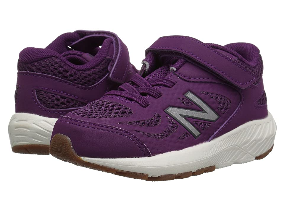 1bcb817be8 New Balance Kids KV519v1I (Infant/Toddler) (Imperial/Phantom) Girls Shoes