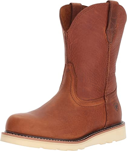 Ariat - Chaussures Rambler Recon Western Western pour Hommes, 46 W EU, oren Grizzly