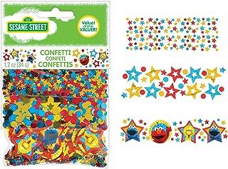 Amscan 361672 Confetti | Sesame Street Collection, Multicolor