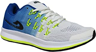 MAX AIR Sports Running Shoes 8852 White Royal