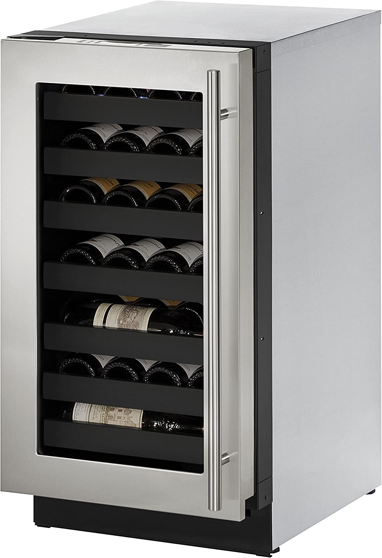 U-Line U3018WCS01A Weekly update Built-in Wine Storage Stainless 18