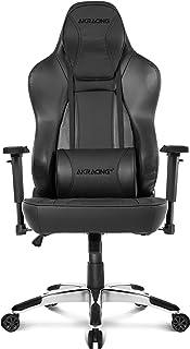AKRacing Office Series Obsidian Computer Chair- PU Leather with High Backrest, Ergonomic, Recliner, Swivel, Tilt, Rocker &...