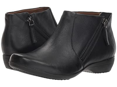 Dansko Fifi (Black Milled Nappa) Women