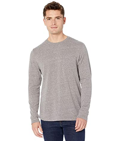 Threads 4 Thought Tri-Blend Long Sleeve Pocket Tee (Heather Grey) Men