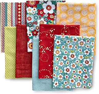 ADORNit, Half Yard Fabric Combo Pack for Quilting - Juicy Fruit