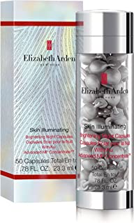 Elizabeth Arden Skin Illuminating Brightening Night Capsules With Advanced MI Concentrate, 50 Capsules