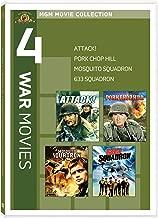 4 War Movies: Attack! / Pork Chop Hill / Mosquito Squadron / 633 Squadron