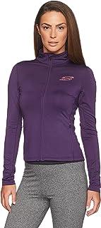 Skechers AWJ010 Abrigo para Mujer, Purpura, Extra Chico