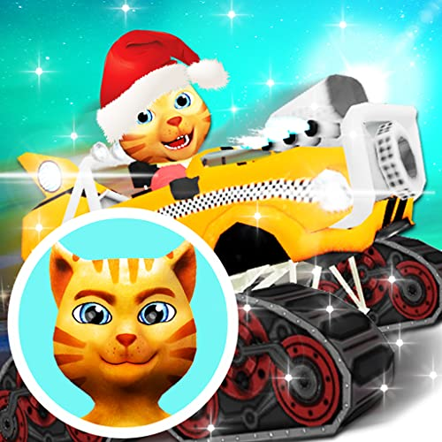 Cat Race Car Snow Drift Stunts (Free)