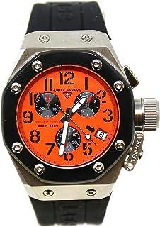 Swiss Legend Men's 10541-06-BB Trimix Diver Collection Chronograph Black Rubber Watch