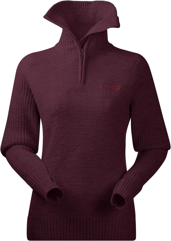 Bergans Ulriken Sweat-Shirt Femme Purple Velvet Melange 2019 Couche interm/édiaire