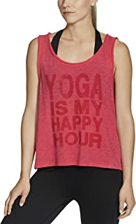 Gaiam Apparel Womens Willow Crop Top