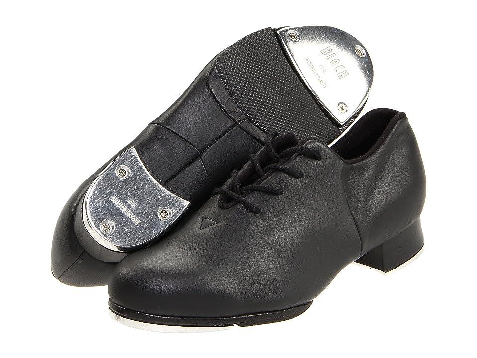 DIY Dance Shoes- Ballroom, Lindy, Swing Bloch Tap-Flex Black Womens Tap Shoes $87.00 AT vintagedancer.com