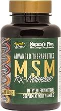 NaturesPlus MSM Rx Wellness - 2000 mg Methylsulfonylmethane, 60 Vegetarian Tablets - Joint Health Support Supplement with Vitamin C - Gluten-Free - 30 Servings