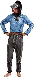 Briefly Stated Mens Werewolf Wolf Union Suit One Piece Pajama Set