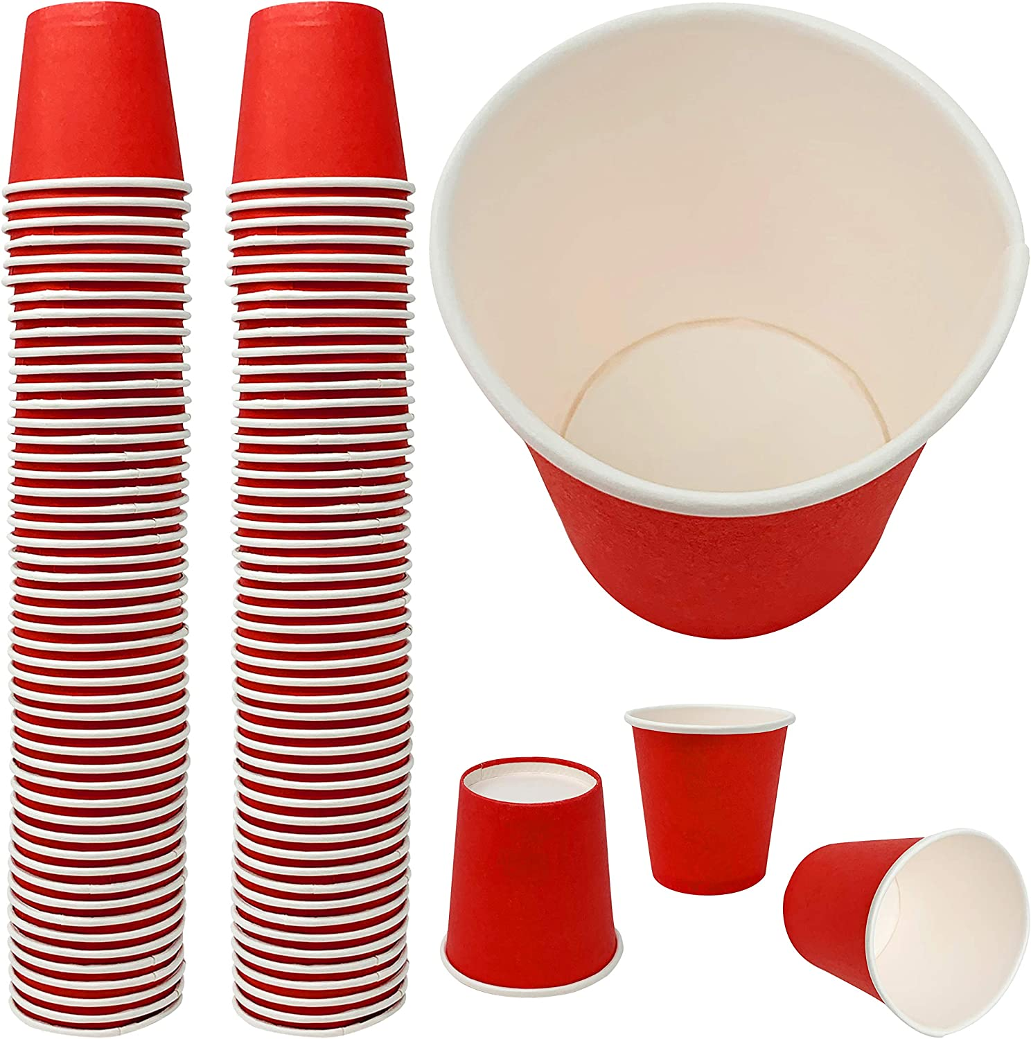 Disposable Shot Glass - Max All items in the store 51% OFF Eco-Friendly Paper Solo oz 2 Mini Red
