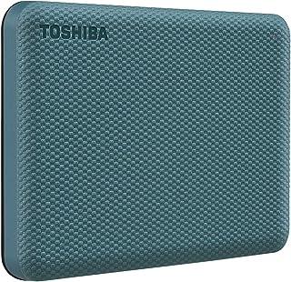 Toshiba Canvio Advance 1TB Portable External Hard Drive USB 3.0, Green - HDTCA10XG3AA