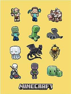 91x61cm Set Posterleisten #B032088 Minecraft Poster