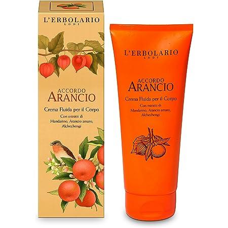 L 'erbolario accordo arancio Crema Per Il Corpo, 1er Pack (1X 200ML)