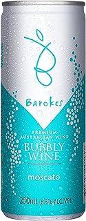 バロークススパークリングワイン(微発泡)甘口白 モスカート ケース売り 缶ワイン [ スパークリング 甘口 オーストラリア 250ml×24本 ]