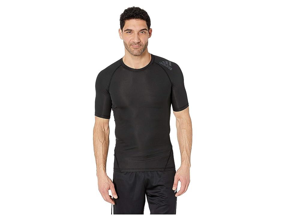 adidas Short Sleeve Alphaskin Sport Tee (Black) Men