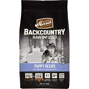 Merrick Backcountry Grain Free Raw Infused Puppy Dry Food