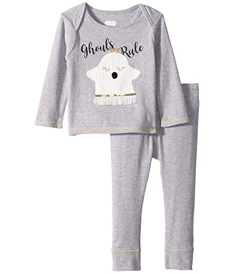 Halloween Ghost Long Sleeve Two-Piece Playwear Set (Infant)