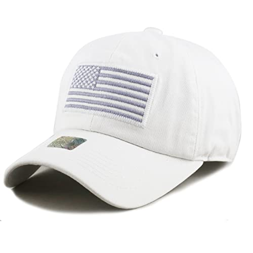 733cf490e25 THE HAT DEPOT Tactical Operator USA Flag Cap
